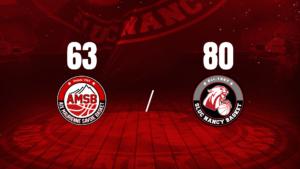Premier round réussi (80-63)