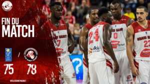 Le SLUC prend une option (78-75) !