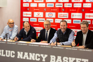 Le SLUC Nancy et CORA : un partenariat fort et durable !