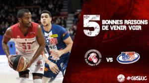 5 bonnes raisons d'assister a : SLUC / Rouen (15/12/2018)